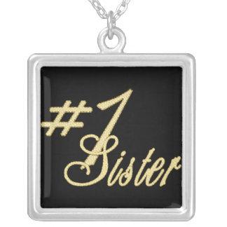 Collar de la hermana del número uno