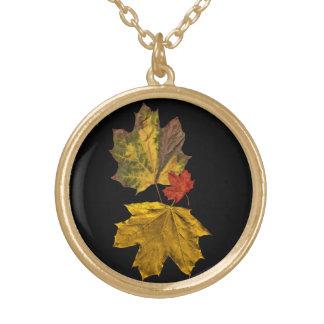 Collar de la hoja del otoño de los accesorios de