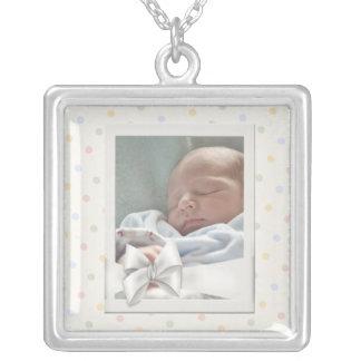 Collar de la imagen del bebé del marco de la foto