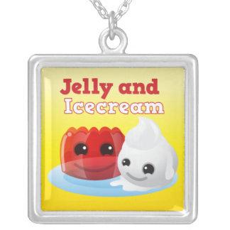 collar de la jalea y del helado
