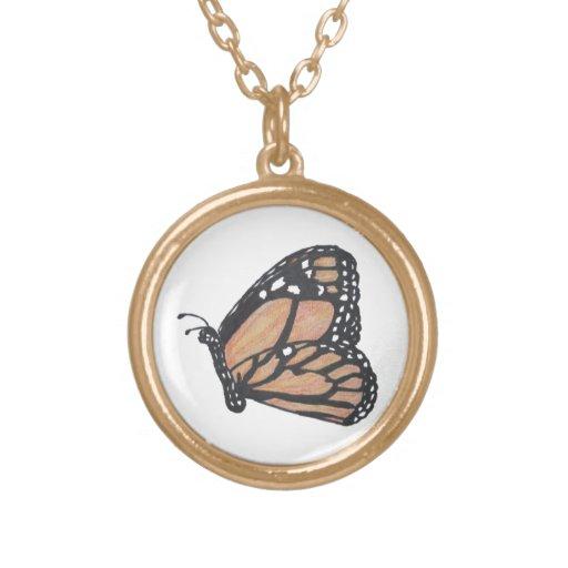 Collar de la mariposa de monarca - los E.E.U.U.