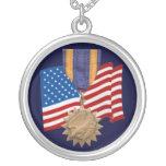 Collar de la medalla de aire