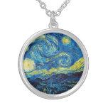 Collar de la noche estrellada de Van Gogh