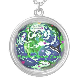 Collar de la paz de Globa de la madre tierra