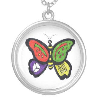 Collar de la paz de la mariposa
