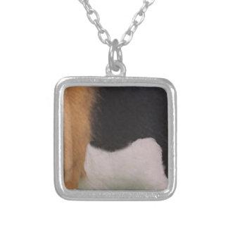 Collar de la piel del beagle