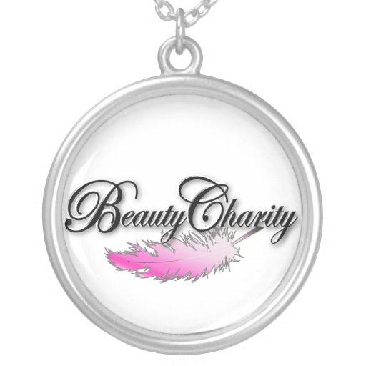 Collar de la plata de la caridad de la belleza