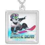 Collar de la plata esterlina de Barrie Bear™