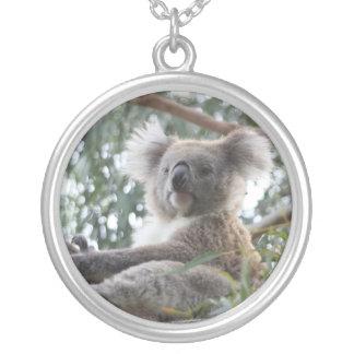 Collar de la plata esterlina de la koala