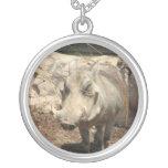 Collar de la plata esterlina de Warthog