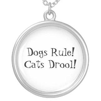 Collar de la regla de los perros