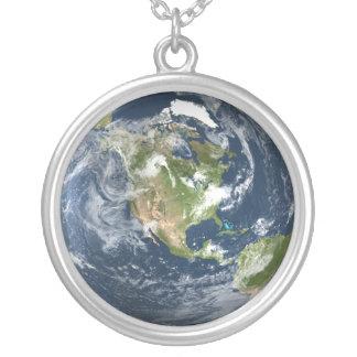 Collar de la tierra del planeta