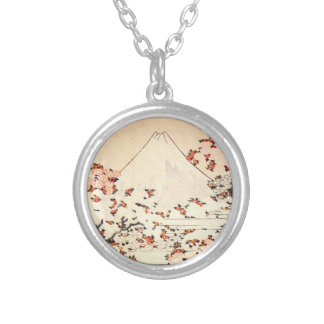 Collar de las flores de cerezo de Hokusai el monte