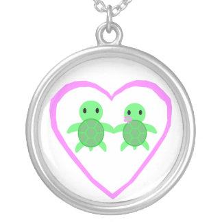 Collar de las tortugas de mar del amor