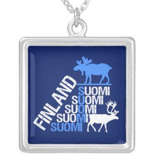 Collar de los alces y del reno de Finlandia