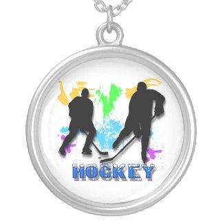 Collar de los jugadores de hockey
