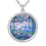 Collar de los lirios de agua de Monet