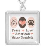 Collar de los perros de aguas de agua americana de