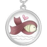 Collar de los pescados de la cinta de la concienci