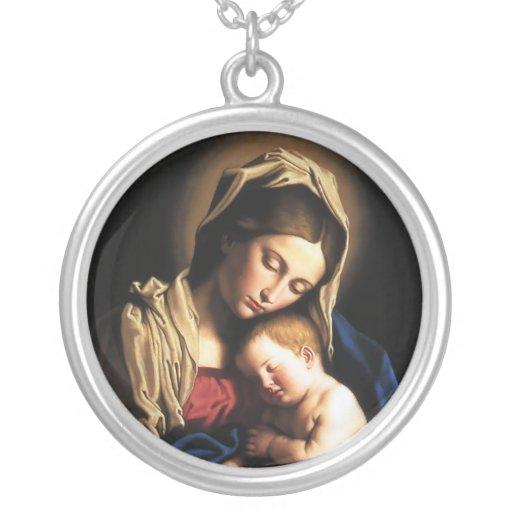 Collar de Madonna y del niño