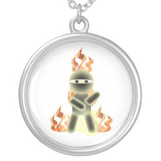 Collar de Ninja del fuego (por el kolohe Nick del