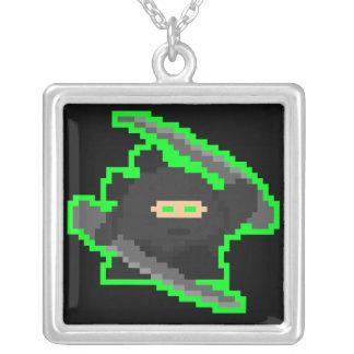 Collar de Ninja del pixel