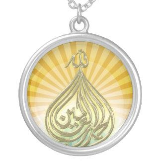 Collar de oro de las bendiciones de dios