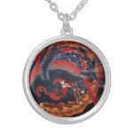 Collar de Phoenix del japonés de Hokusai