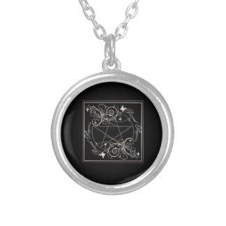 Collar de plata del Pentagram