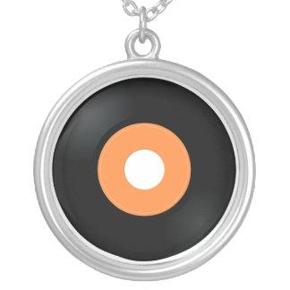 collar de registro del vinilo 45 retros