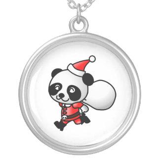 Collar de Santa de la panda