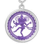 Collar de Shiva del baile - púrpura