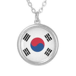 Collar de Taegukgi bandera de la Corea del Sur