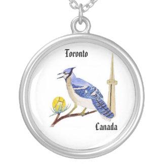 Collar de Toronto del arrendajo azul