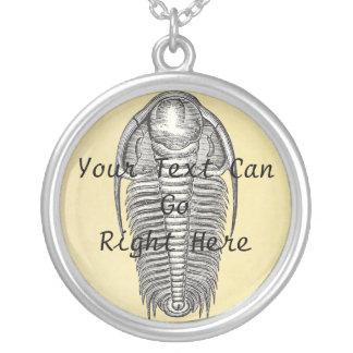 Collar de Trilobite del ejemplo del vintage