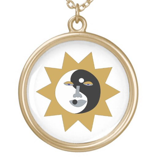 Collar de Yin Yang Sun
