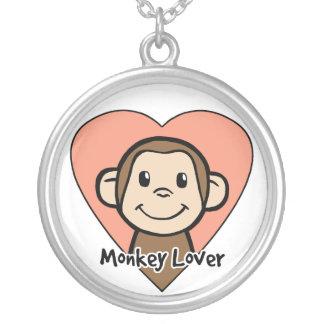 Collar del amante del mono
