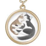 Collar del amor del gato del gatito de la madre