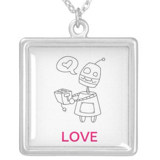 Collar del amor del robot