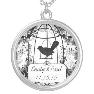 Collar del aniversario del Birdcage del vintage de