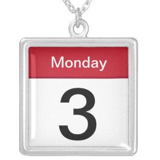 collar del App del iPhone - calendario - personali