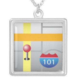 collar del App del iPhone - mapas