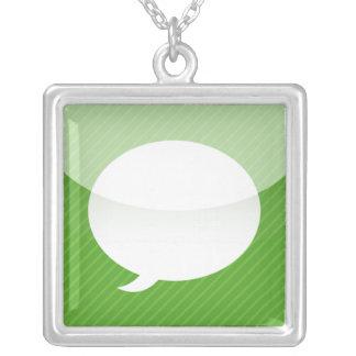 collar del App del iPhone - mensajes