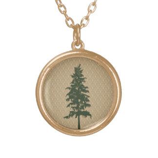 Collar del árbol de pino