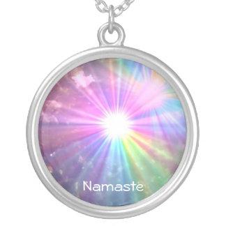 Collar del arco iris de Namaste