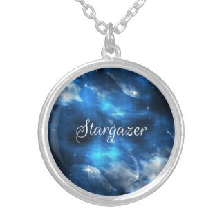 Collar del azul del Stargazer de la galaxia del es