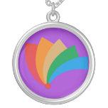 Collar del barrido del arco iris