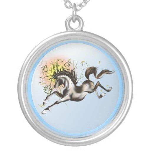 Collar del caballo de Runnung