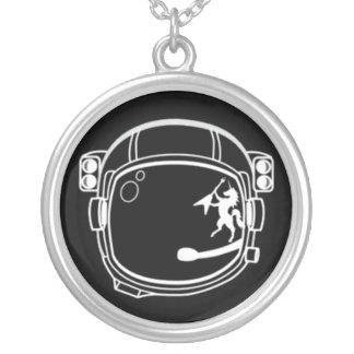COLLAR del CADETE del ESPACIO (medallón negro)