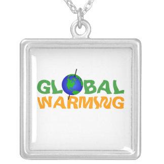 Collar del calentamiento del planeta
